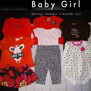 Baby Girl BUNDLE Spring & Summer